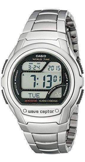 Reloj Deportivo Digital Atomico Wv58da-1av Waveceptor De Cas