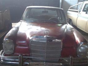 Mercedes Benz 280 Se Sin Motor Y Sin Documentacion