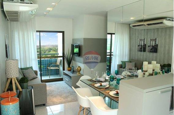 Apartamento 2 Qts - Caxangá - Andar Alto - Ap0422