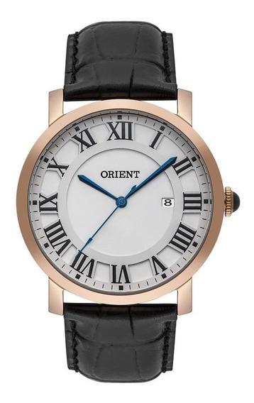 Relógio Orient Masculino Ref: Mrsc1010 S3px Social Rosé