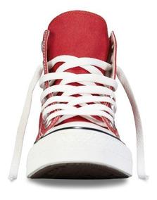 Zapatilla All Star Hi Red M9621c C/caña Original Nueva