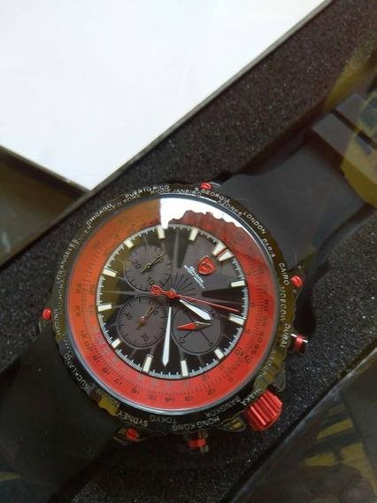 Relógio Tubarão Shark 100% Origin~prota Entraga.