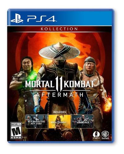 Mortal Kombat 11 Aftermath - Playstation 4