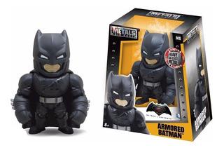 Batman Armored Dc Figura Muñeco Metal Die Cast 10 Cm
