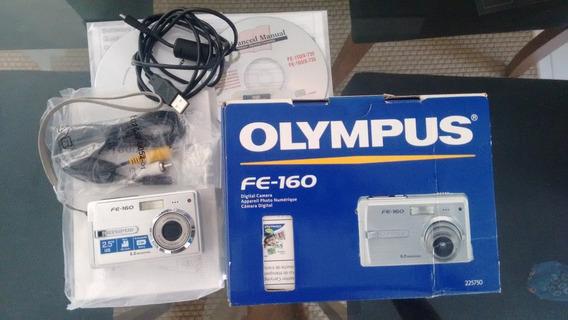 Máquina Fotográfica - Câmera Digital Olympus Fe-160