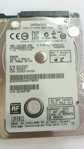 Hd Hitachi 500gb Z5k500 Sata Iii 5400 Rpm Para Notebook