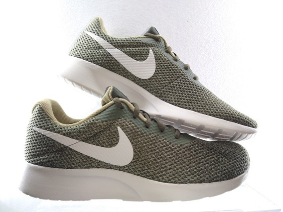 Tenis Nike Tajun 844887 303 Verde Militar