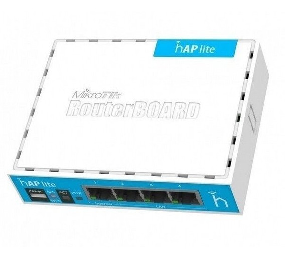 Mikrotik Routerboard Rb941-2nd Tipo Rb 750 C Wifi Com Fonte