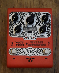 Nig Pedal Vintage Distortion Multi Fuzz Andy Timmons
