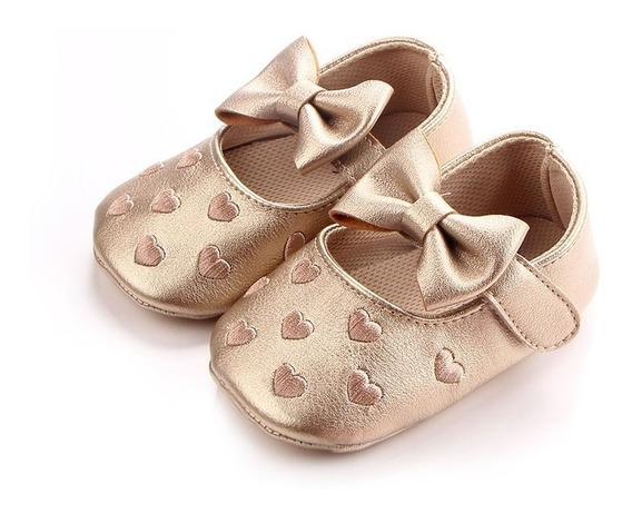 Sapatinho Infantil Bebê Menina - Tam. 20 - 13 Cm - Stocklar