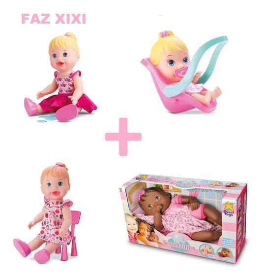 Xixi + Lanchinho + Conforto + Nenenzinha + Berço + Doutora