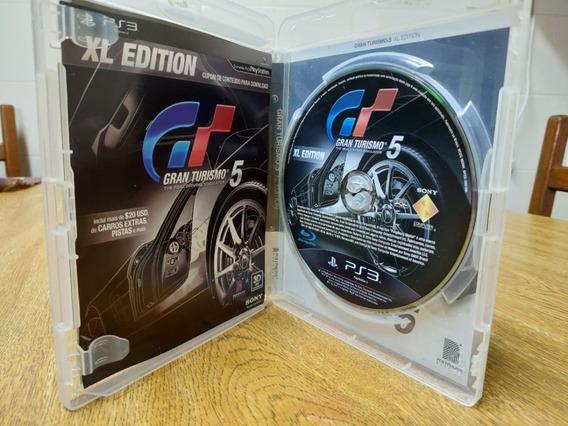 Jogo Gran Turismo 5 - Ps3 - Mídia Física
