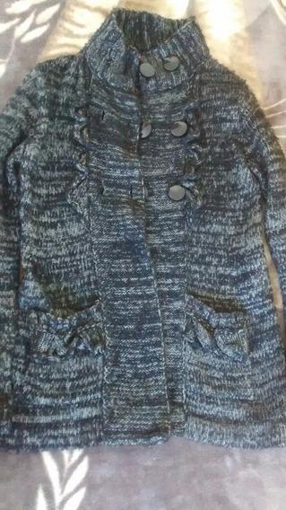 Lote X 2 Sweater Saco Chaleco Botones Lana Mujer M