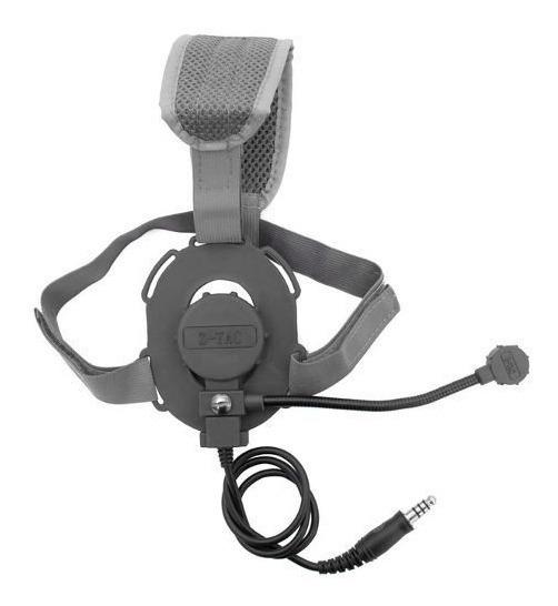Fone Com Microfone Bowman Evo Iii Para Rádio Comunicador