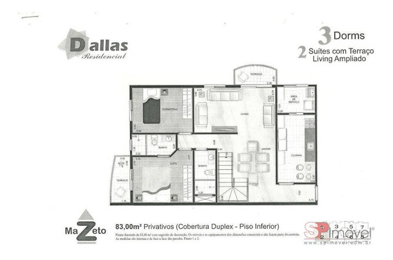 Apartamento Cobertura Para Venda Por R$1.000.000,00 - Barcelona, São Caetano Do Sul / Sp - Bdi18037