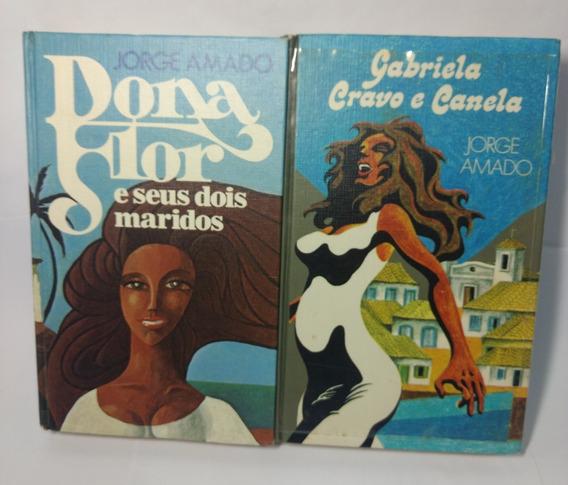 Coleção Jorge Amado Círculo Do Livro - 2 Volumes