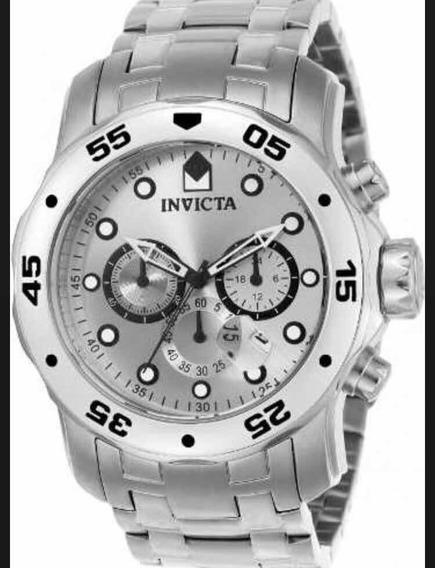 Relógio Invicta Pro Driver 0071 Prata (original Lacrado)
