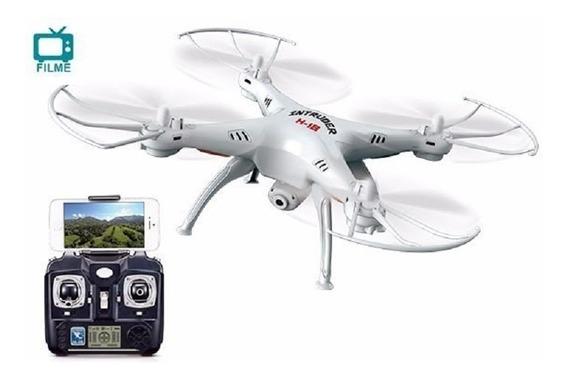 Drone Intruder Com Câmera Real Time Via Smartphone Candide