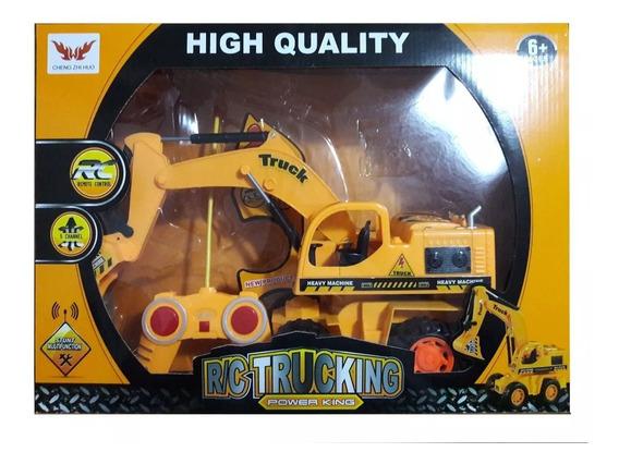 Brinquedo Mini Caminhão Controle Remeto Trucking 5