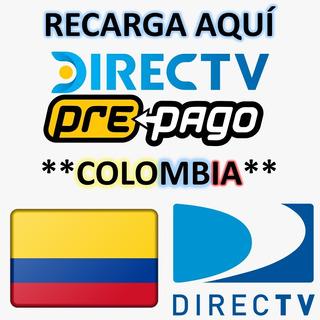 Recargas Directv Colombiano Prepago Activación De Deco