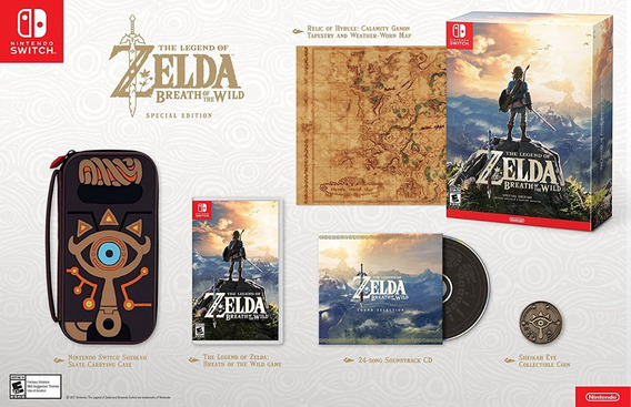 The Legend Of Zelda: Breath Of The Wild Special Edition
