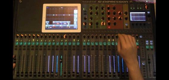Mesa Som Soundcraft Si Compact 32