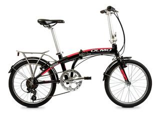 Bicicleta Plegable Olmo Pleggo Full 7 Vel Rodado 20 Colores
