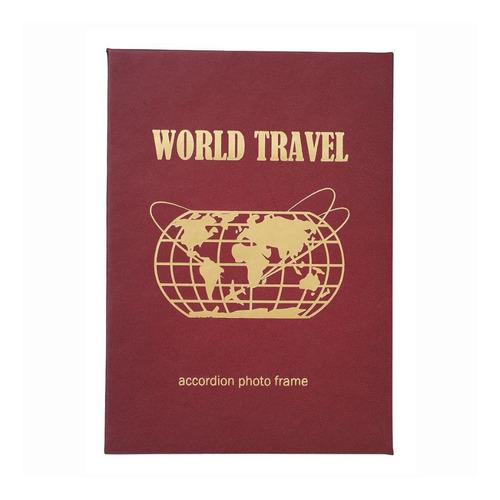 Imagen 1 de 2 de Fujifilm Álbum De Fotos Acordeón World Travel P/ Instax Mini
