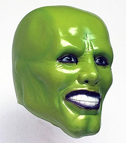 Jim Carrey Máscara De Látex Para Fiestas De Disfraces