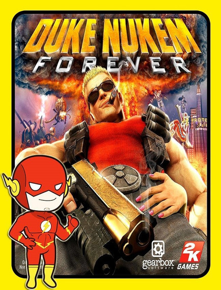 Duke Nukem Forever Pc - Steam Key (envio Flash)