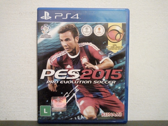Ps4 Pro Evolution Soccer 2015 ( Pes 2015 ) - Aceito Troca...