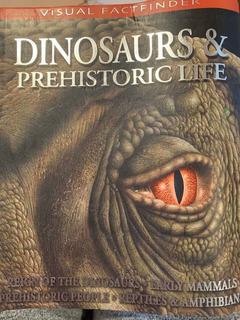 Libro, Dinosaurs &prehistoric Life, Visual Factfinder.
