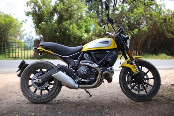 Ducati Scrambler Icon 800 2018 Precio Negociable