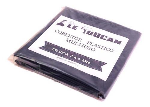 Imagen 1 de 3 de Cobertor Plástico Multiuso 3 X 5 Mts El Tucan