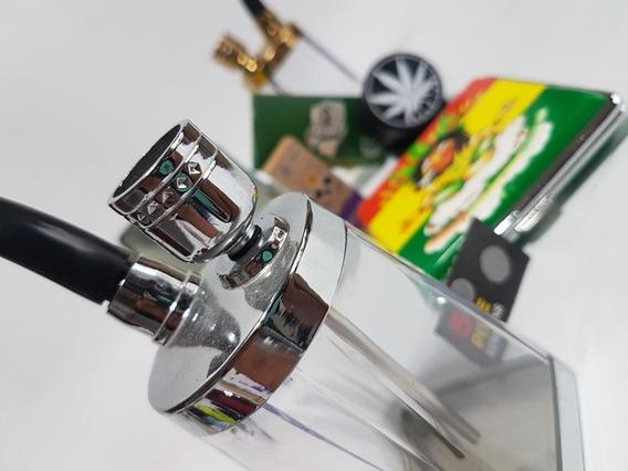 Pipa Bong Porta Cigarrillo Papel Celulosa Picador Filtro