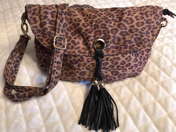Cartera Crossbody Animal Print