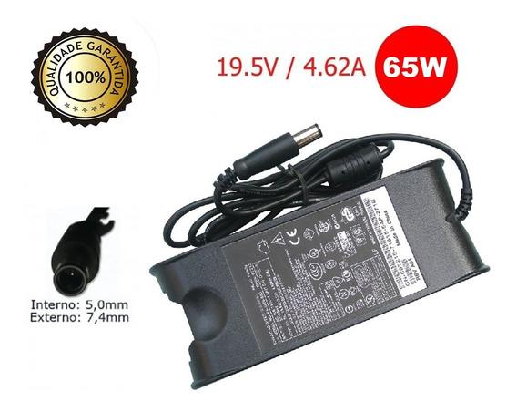 Kit Com 5 Fontes Notebook Compatível Dell Slim 19.5v 4.6a