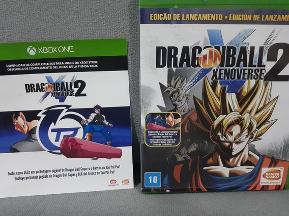 ( Frete R$ 9.90 ) Jogo Dragon Ball Xenoverse 2 Xbox One Cd