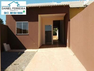 Casa Até 100% Financiada Pelo Programa Minha Casa Minha Vida - Ca00007 - 4701964