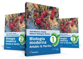 Fundamentos Da Biologia Moderna - Amabis Martho Vol 1 2 3