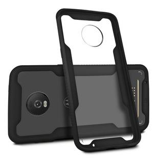 Capa Capinha Case Dual Shock Para Motorola Moto Z4 - Gorila