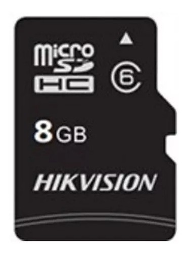 Cartão Memória Micro Sd Hikvision 8gb Class 10 Kit Com 10un