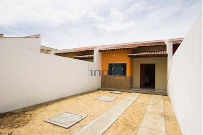 Casa Com 3 Dormitórios À Venda, 86 M² Por R$ 170.000 - Alto Alegre I - Maracanaú/ce - Ca0541
