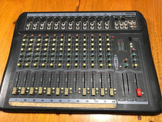 Consola Mixer American Pro Black 12