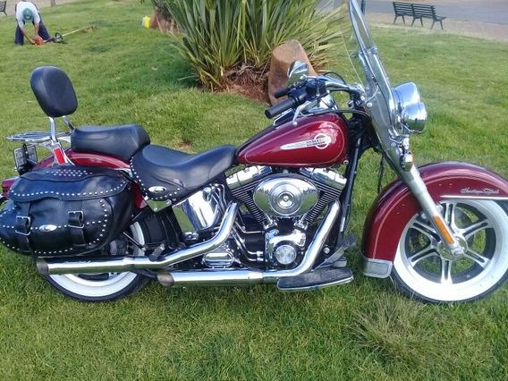 Harley-davidson Heritage Softail.