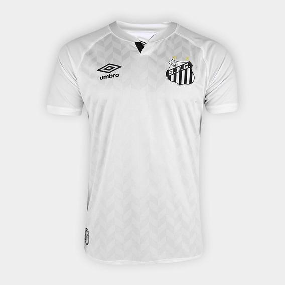 Camisa Santos I 20/21 S/n° Torcedor Umbro Masculina - Branco