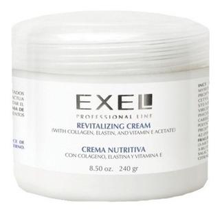 Crema Facial Exel Nutritiva Colageno Elastina Y Vita E 250ml