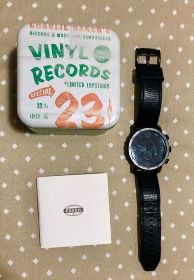 Relógio Fossil Jr1354 - Couro - Frete Grátis - Exclusividade