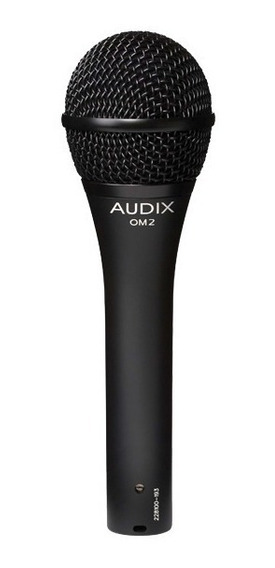 Microfone Audix Om2 - Dinâmico Para Vocais - Hipercardióde