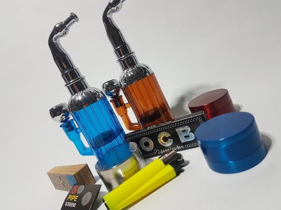 Combo Pipa + Picador + Celulosa + Filtros Papel